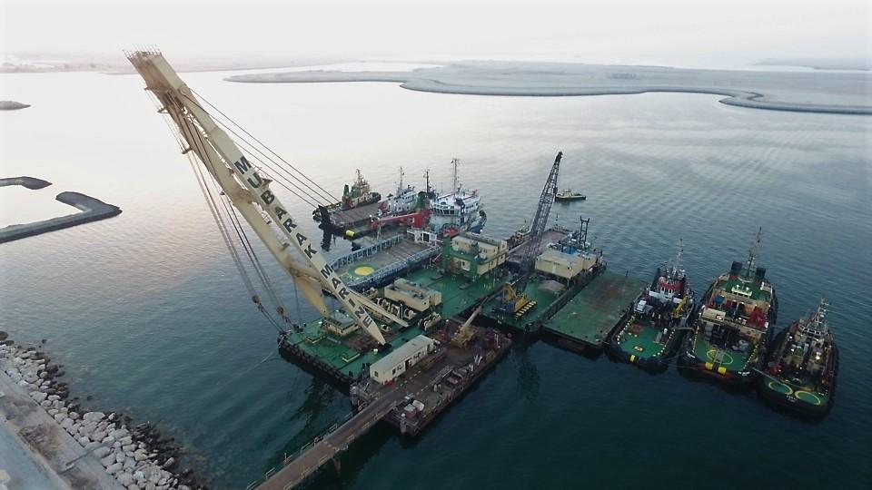 Marine Services Company Dubai, Abu Dhabi, Saudi Arabia - Mubarak